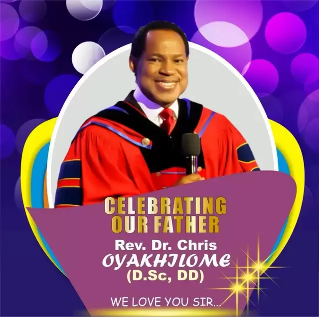Happy Birthday Dr Strangelove In 2019: Happy Birthday Rev. Dr. Chris Oyakhilome: You Have Given