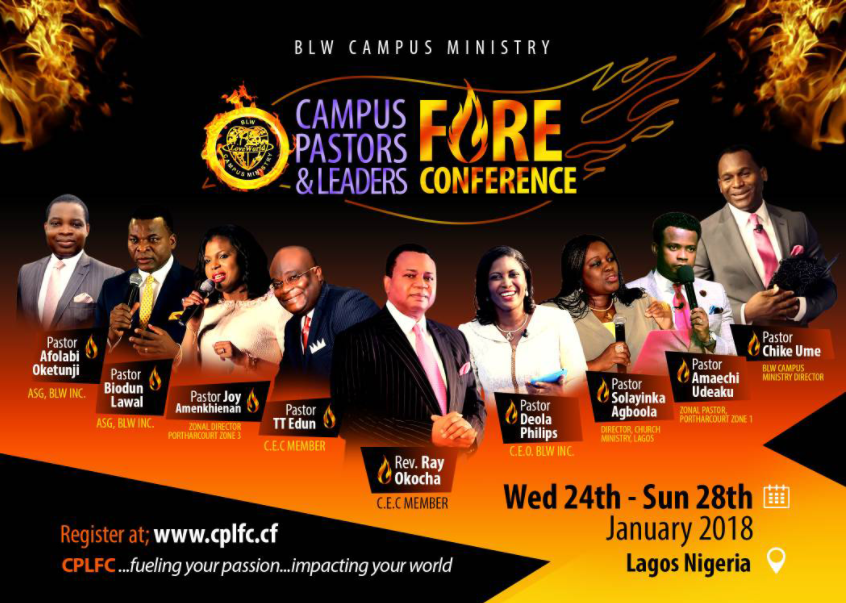 Get Ready for the Campus Pastors and Leaders Fire Conference