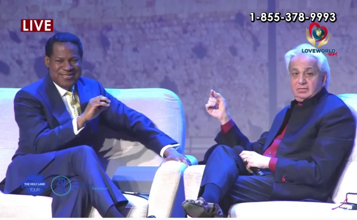 Pastor Chris and Benny Hinn Ministraton in Israel