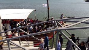 Pastor Chris at the Sea of Galilee