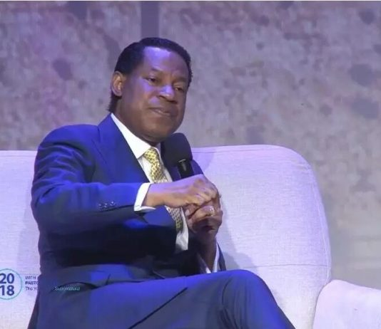 Pastor Chris in the Holy Land