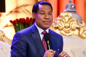 Pastor Chris at the October-Communion-Service-LoveWorld News