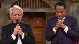 Benny Hinn and Pastor Chris