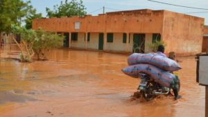 heavy rains in Niamey since June, AFP