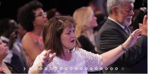 Worshiper at TNIC 2017