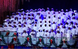 Christ Embassy choir singing beautiful Christmas carols