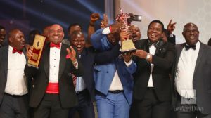 The Security Department, headed by Deacon IK Osazuwa, celebrates second runner-up position.